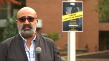 In attendance was Ken Dosanjh, who knows all too well the perils of gang life. His two brothers Ron and Jimmy Dosanjh lived as notorious Vancouver gangsters, until they were shot and killed two months apart in 1994. (CTV)