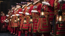 Yeoman warders in the Ceremonial Search
