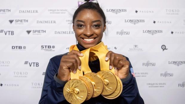Simone Biles Gymnastics World Championships