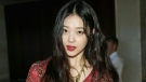 K-pop star Sulli, a former member of the all-girl band f(x) had experienced online bullying. AFP