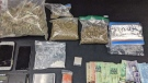 The Hanover Police Service seized a quantity of cannabis and cocaine. (@ChiefKnoll / Twitter)