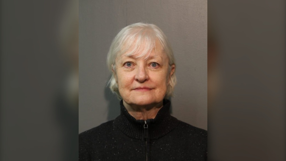 Marilyn Hartman's alleged efforts to repeatedly sneak onto flights earned her the nickname 'serial stowaway.' (Chicago Police Department)