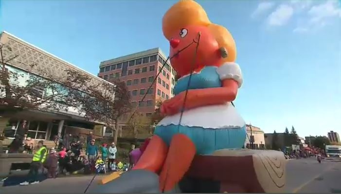 Thousands showed up to the 2019 Oktoberfest Thanksgiving Day Parade.