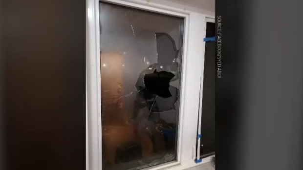 Broken window CBU international students