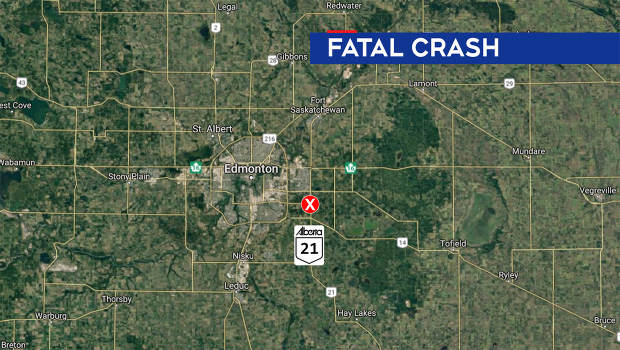Strathcona county fatal collision