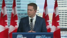 Scheer questioned over Winnipeg campaign stop
