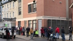 Thousands lined up for a hot meal this Thanksgiving at The Ottawa Mission.