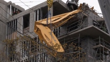 Collapsed Halifax crane mostly removed