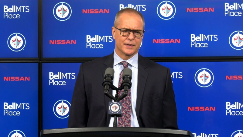 Winnipeg Jets Head Coach Paul Maurice. (File Photo)