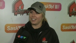 First female coach in WHL hits the ice