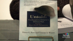 Northeastern Ontario's Military history