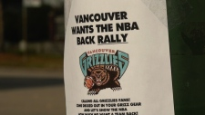 Vancouver Grizzlies fans are planning a rally this week to show potential investors there's support for a new NBA team in the city.