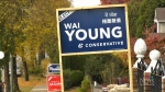 Campaign signs disappearing in Vancouver riding