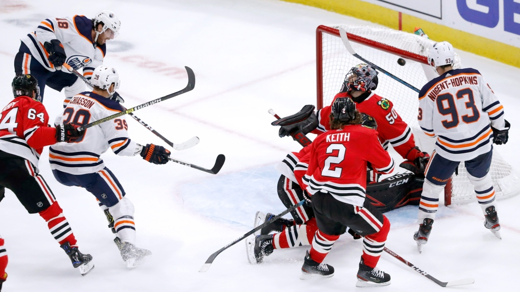 Edmonton Oilers, James Neal, Chicago Blackhawks