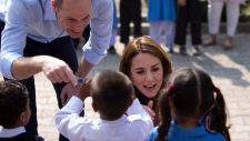 Prince William and his Kate