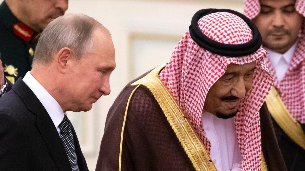 putin saudi arabia