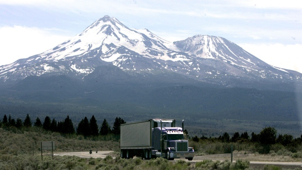 Mount Shasta near Weed, Calif.