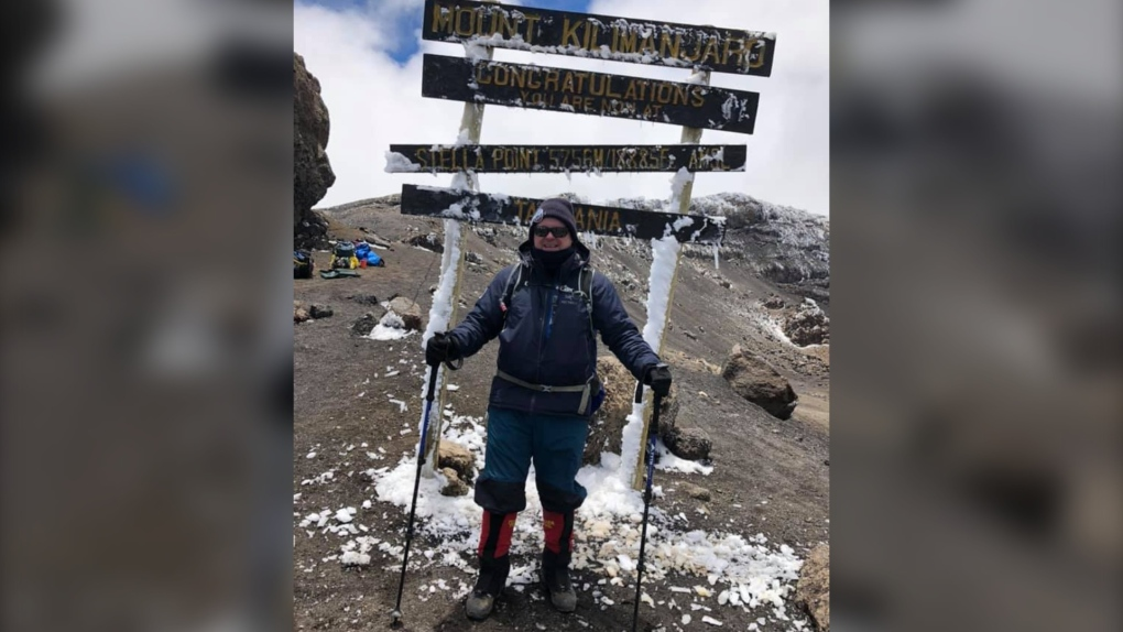 Summit for the Stollery climbers reach the top of Mount Kilimanjaro