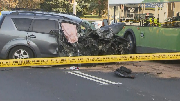 North York crash