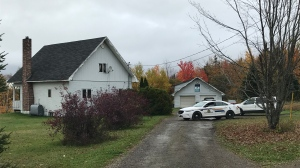The RCMP are investigating the murder of a man in Upper Coverdale, N.B.