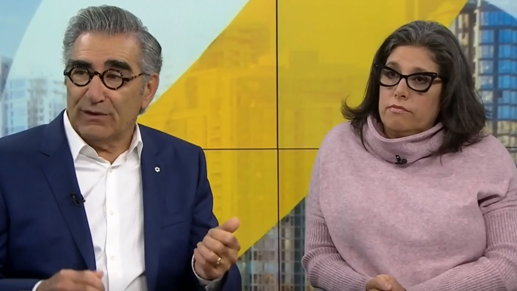 Eugene Levy lends voice to calls for Ont. Conservatives to reverse autism funding cuts