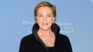 This Nov. 1, 2011 file photo shows honoree Julie Andrews attending the Princess Grace Foundation Awards gala in New York. (AP Photo/Evan Agostini, File)