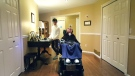 Brother invents wheelchair voice activation system