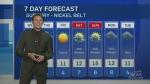 Northern Ontario weather forecast Oct. 15/19
