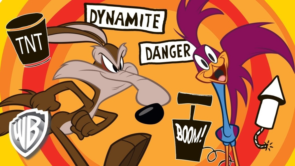 Joke coyote warning signs with a cartoon twist catch police attention