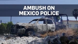 Mexico police ambush