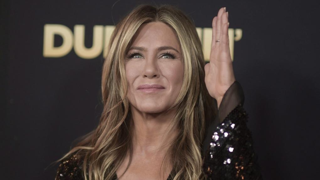 Jennifer Aniston in L.A. in 2018