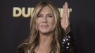 Jennifer Aniston at TCL Chinese Theatre in Los Angeles, on Dec. 6, 2018. (Photo by Richard Shotwell / Invision / AP)
