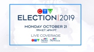 Watch CTV News' live coverage of the 2019 federal election on CTV, CTV News Channel and CTVNews.ca on Monday, Oct. 21 starting at 7 p.m. EDT/4 p.m. PDT.