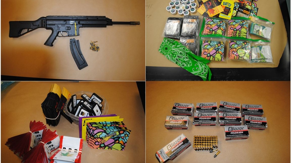 12-year-old boy charged after being found with loaded rifle, cocaine, cash, Saskatoon police say