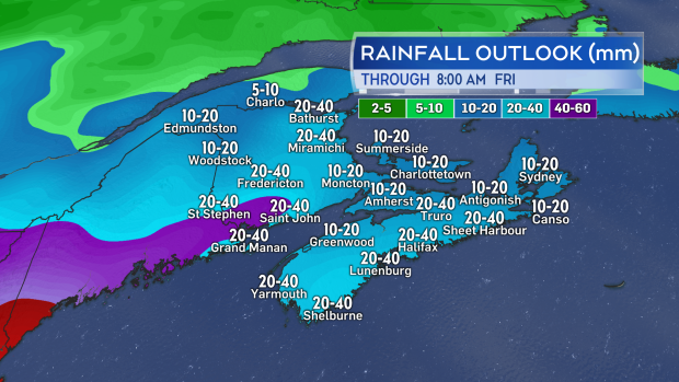 rainfall outlook