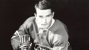 Danny Grant, who won a Stanley Cup with the Canadiens in 1968, died at the age of 73 following a battle with cancer. (Photo: NB Sports Hall of Fame/Twitter)