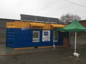 The new automated Return-it recycling facility opens in Tofino: Oct. 15, 2019 (CTV News)