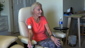 Jarmila Lacko sustained a number of injuries after she was attacked by a dog near her home on October 7, 2019.