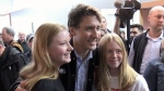 Trudeau tries to shore up support in Maritimes
