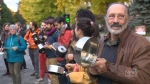 CTV  MONTREAL: Environmental groups protest