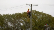 Coping without power in Poplar Point