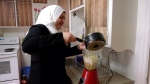 Cooking instructor Fouz Bozan says she likes showing Canadians about her Syrian culture. (Lisa Risom/CTV Prince Albert)