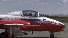 Canadian Snowbird pilots discuss unlikely marriage