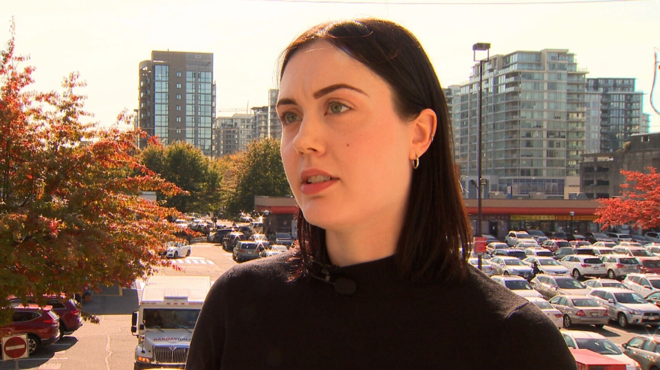 Kirsten Clarke, 27, says she doesn't expect she'll ever be able to afford a home in Richmond, B.C., where she lives. The average price of a home in the community is $1.5 million.