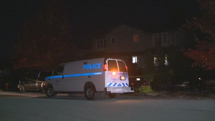 Halifax Regional Police respond to a stabbing in Dartmouth on Oct. 15, 2019.