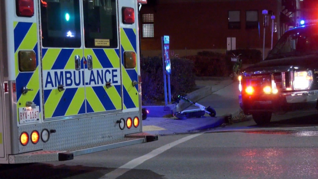 E-scooter rider struck by vehicle in Beltline crosswalk