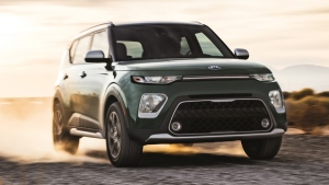 This undated photo provided by Kia Motors America shows the 2020 Kia Soul. (Kia Motors America via AP)