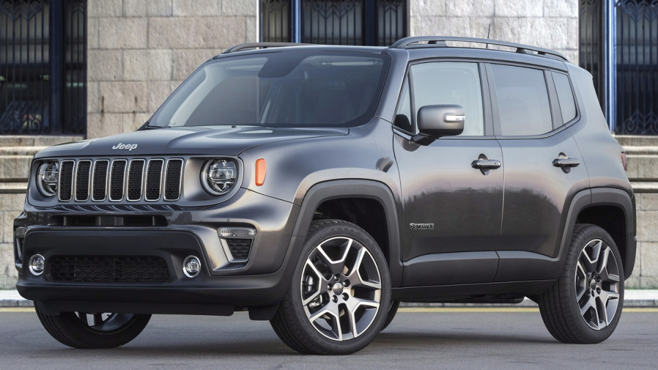 This undated photo provided by FCA shows the 2020 Jeep Renegade. (FCA US via AP)