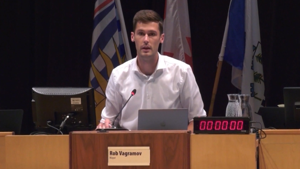 Sex assault charge against Port Moody Mayor Rob Vagramov stayed