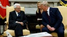 donald trump, italian president